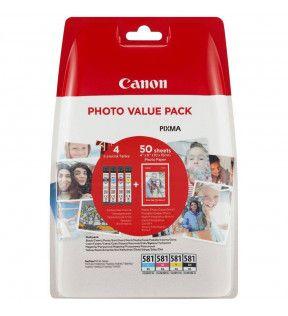 Tous les consommables imprimantes-CANON-CON-CAN-CLI-581-PK