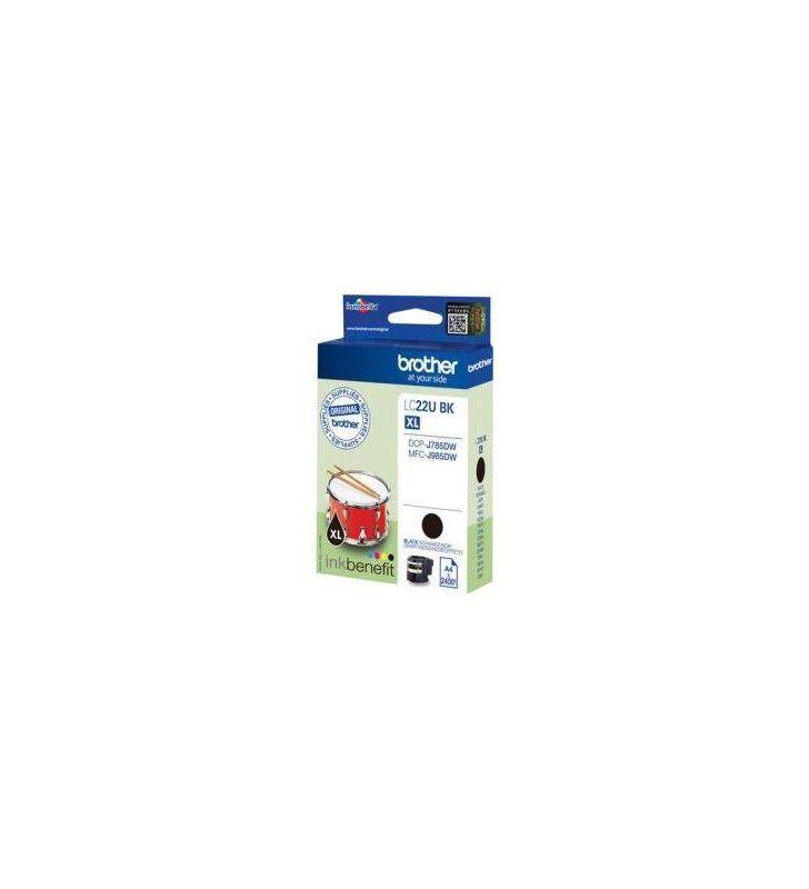 Tous les consommables imprimantes-BROTHER-CON-BRO-LC22UXLBK