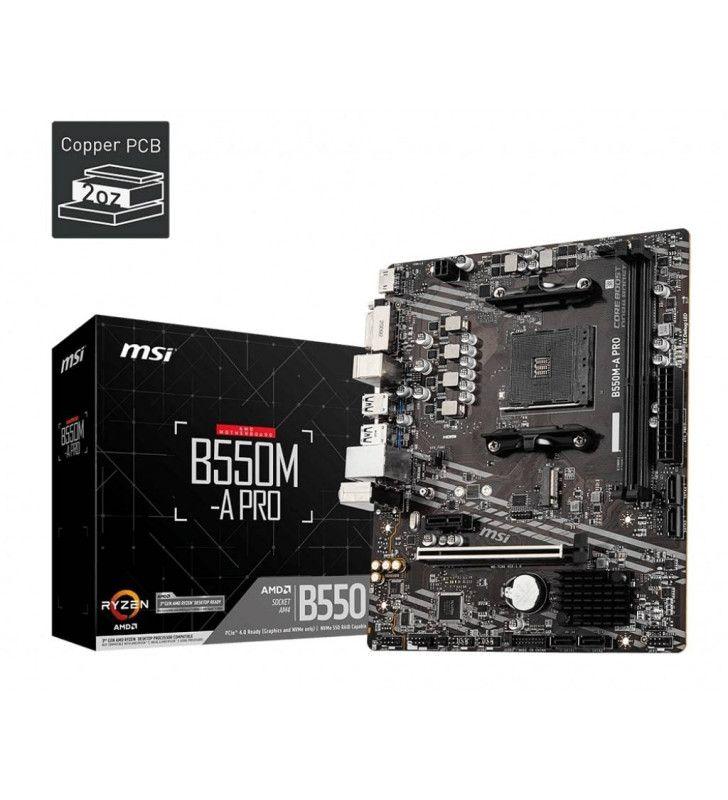 Socket AMD-MSI-CMA-MSI-B550M-APRO