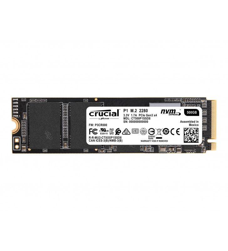Composants PC-CRUCIAL-DD-SSD-CRU-500-P1