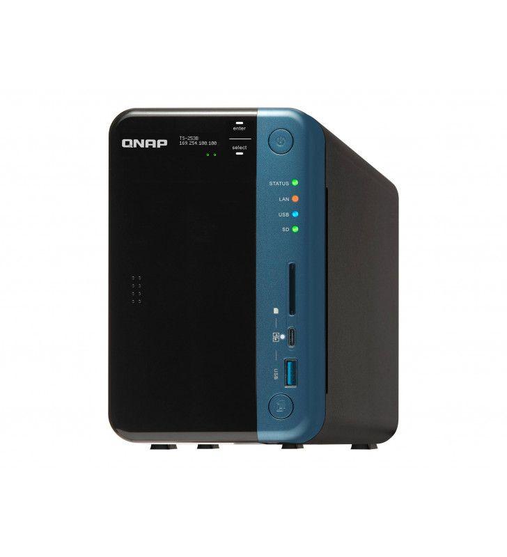 Serveurs NAS-QNAP-NAS-QNA-TS253BE-4G