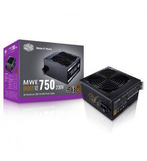 COOLER MASTER MWE 750W V2 - 80+ Bronze - 750 Watts COOLER MASTER - 1