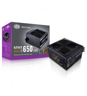 COOLER MASTER MWE 650W V2 - 80+ BRONZE - 650 WATTS COOLER MASTER - 7