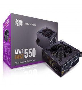 Cooler Master MWE Bronze V2 550 - 80+ Bronze - 550 Watts