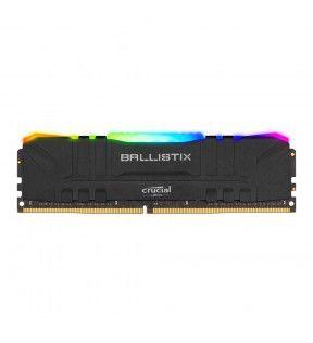Ballistix Black RGB 8G (1x8G) DDR4 3600Mhz *BL8G36C16U4BL