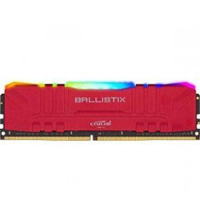 Ballistix Red RGB 8G (1x8G) DDR4 3200Mhz *BL8G32C16U4RL