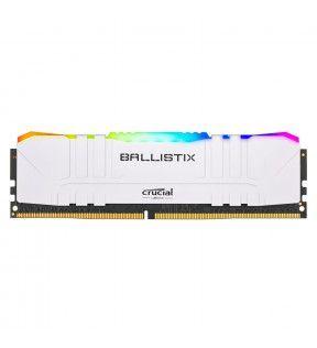 Ballistix White RGB 8G (1x8G) DDR4 3200Mhz *BL8G32C16U4WL