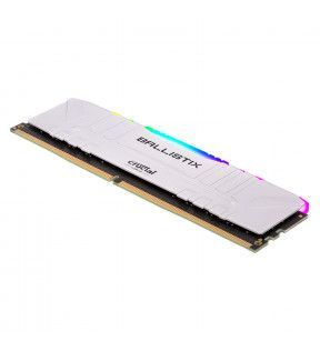 Ballistix White RGB 8G (1x8G) DDR4 3000Mhz *BL8G30C15U4WL