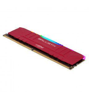 Ballistix Red RGB 16G (1x16G) DDR4 3200Mhz *BL16G32C16U4RL