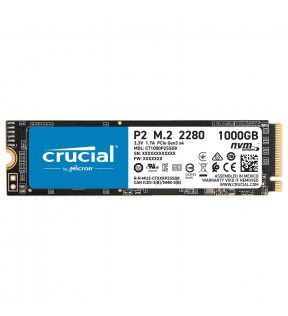 Crucial P2 SSD 1T M.2 PCIe NVMe *CT1000P2SSD8 CRUCIAL - 3