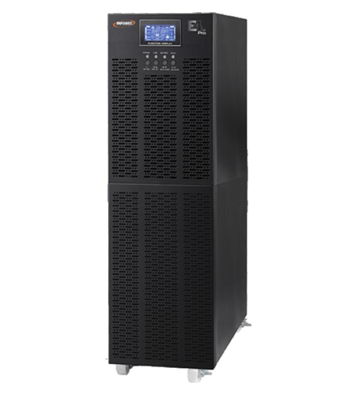 INFOSEC E6 LCD TM RM 15000 - onduleur - 12000 Watt - 15000 VA INFOSEC - 1