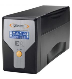 INFOSEC E2 LCD 600- onduleur - 600 VA INFOSEC - 1