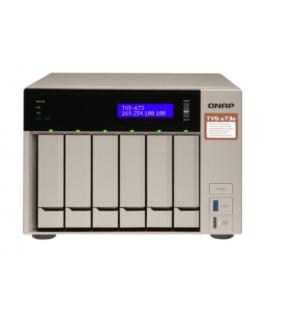 QNAP TS-673-8G - serveur NAS - 0 Go QNAP - 1