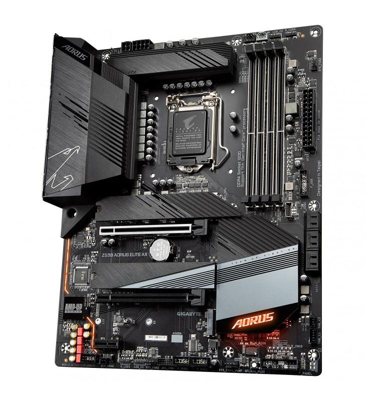 Gigabyte Z590 AORUS ELITE AX - 1.0 - carte-m?re - ATX - Socket LGA1200 - Z590 GIGABYTE - 1