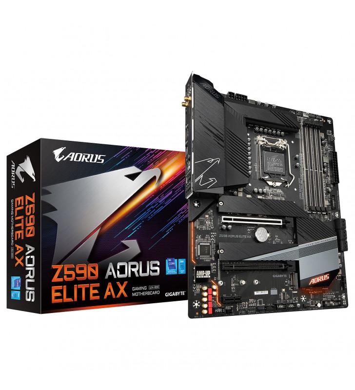 Gigabyte Z590 AORUS ELITE AX - 1.0 - carte-m?re - ATX - Socket LGA1200 - Z590 GIGABYTE - 4