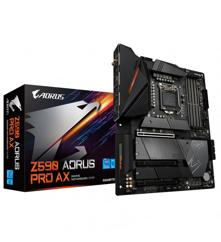 Gigabyte Z590 AORUS PRO AX - 1.0 - carte-m?re - ATX - Socket LGA1200 - Z590 GIGABYTE - 1