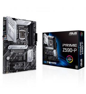 ASUS PRIME Z590-P - carte-mère - ATX - Socket LGA1200 - Z590 ASUS - 4