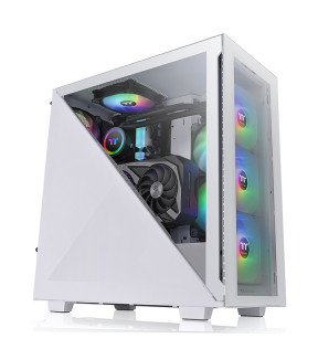 Thermaltake Divider 300 TG Snow ARGB - tour - ATX Thermaltake - 1
