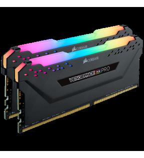 CORSAIR VENGEANCE RGB PRO - DDR4- KIT - 32G - 2X16Go - 3200MHZ/ PC4-25600 CORSAIR - 1