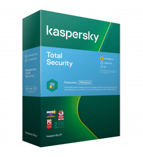 Kaspersky Total Security 2021 5 Postes /1An KASPERSKY - 1