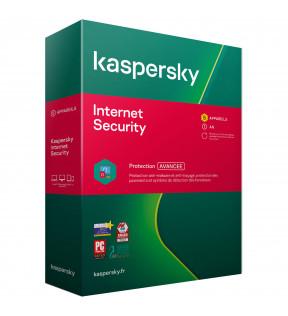 Kaspersky Internet Security 2020 5Postes/1An KASPERSKY - 1