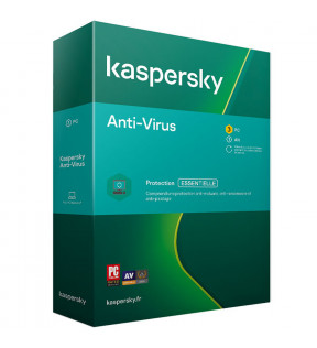 Kaspersky Antivirus 2020 3Postes/1An KASPERSKY - 1