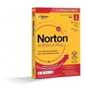 NORTON ANTIVIRUS PLUS BOITE 1AN NORTON - 1