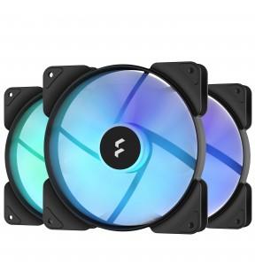 FRACTAL Aspect 14 RGB Black Frame 3-pack FRACTAL DESIGN - 1