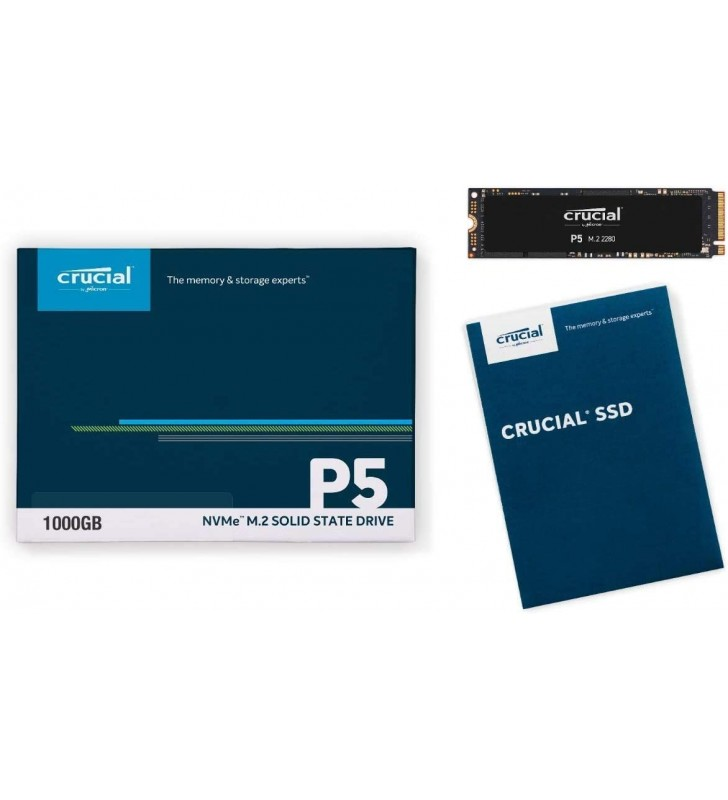 CRUCIAL P5 Plus 2To PCIe M.2 CRUCIAL - 4