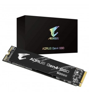 GIGABYTE AORUS Gen4 SSD 500GB GIGABYTE - 1