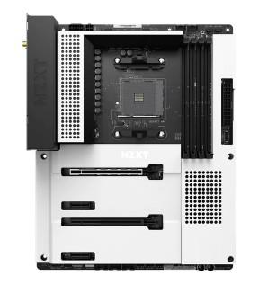 NZXT N7 B550 Matte White - carte-mère - ATX - Socket AM4 - AMD B550 NZXT - 1