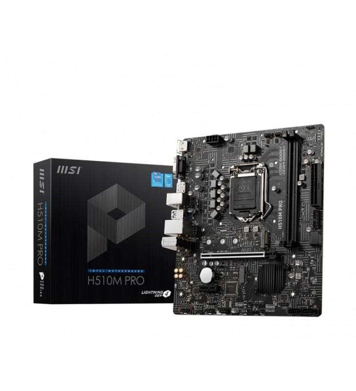 MSI H510M PRO - carte-mère - micro ATX - Socket LGA1200 - H510 MSI - 1