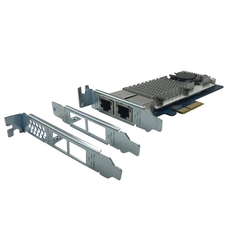 QNAP LAN-10G2T-X550 - adaptateur réseau - 10Gb Ethernet x 2 QNAP - 3
