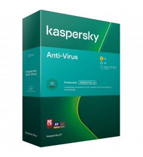 Kaspersky Antivirus 2020 1 Poste /1An KASPERSKY - 1